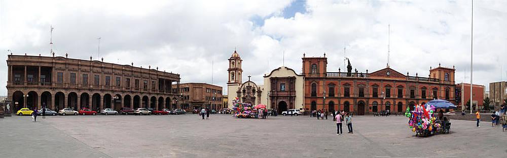 San Luis Potosi Downtown by Jesus Nicolas Castanon
