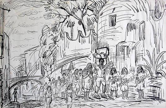 San Miguel de Allende by Aileen Markowski