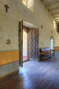 Sanctuary Door Hardwood Floors Stations by Douglas Orton