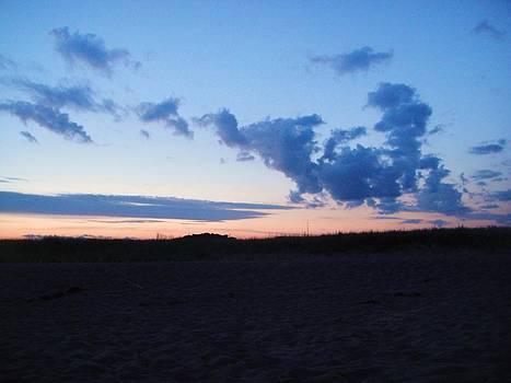 Sand And Sky by Amanda Jastrzebski