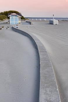 Sand Dunes In The Beach Resort Of Parnu by Jaak Nilson