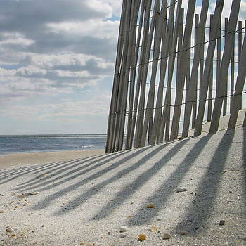 Sand Fence by Mark Otten