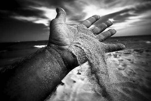 Sand Handful by Franco Farina
