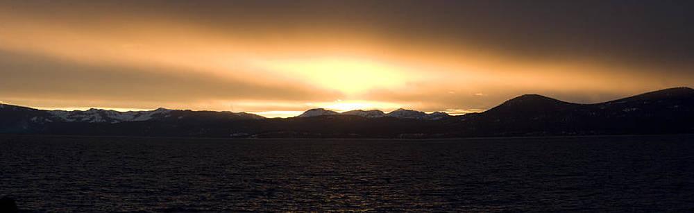 Sand Harbor Sunset by Adam Blankenship
