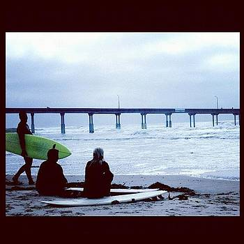 #sandiego #oceanbeach #surfing #friday by Irina Liakh