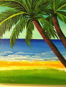 Sandra's Beach by Bania Thaggard