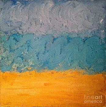 Sandy Beach by J Von Ryan