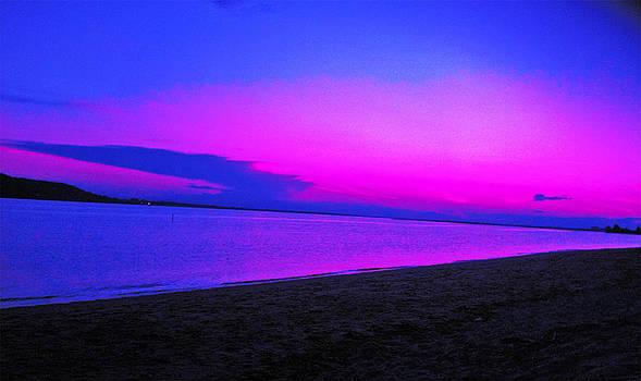 Sandy Hook NJ Sunset7 by Linnea Tober