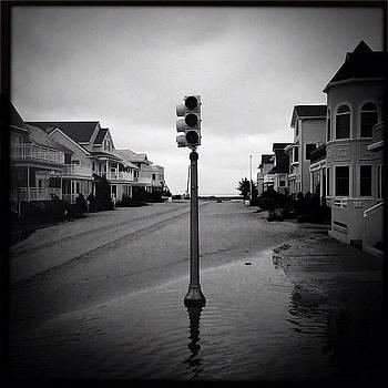 Sandy--Kenyon and Atlantic Ave Margate NJ by David Swanson