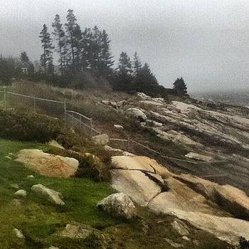 #sandy #storm #maine #coast #ocean #sea by Tracey Manning