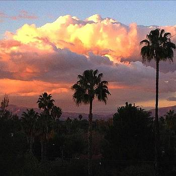 #sanfernandovalley #sunset  so Pretty by Denise Taylor