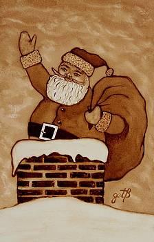 Santa Claus is coming by Georgeta  Blanaru