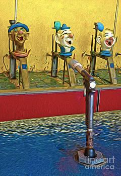 Gregory Dyer - Santa Cruz Boardwalk - Clown Game - 02