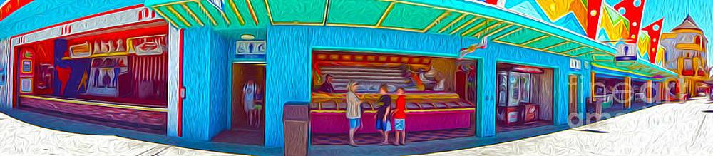 Gregory Dyer - Santa Cruz Boardwalk - Panorama - 02