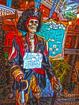 Gregory Dyer - Santa Cruz Boardwalk - Pirate of the Arcade
