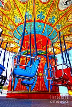 Gregory Dyer - Santa Cruz Boardwalk - Tilt-a-Whirl - 02