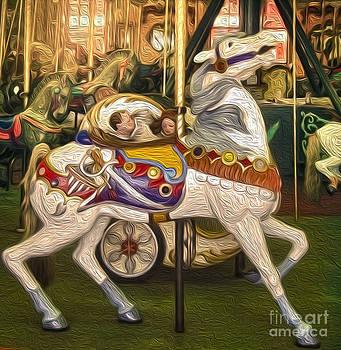 Gregory Dyer - Santa Cruz Boardwalk Carousel Horse - 02