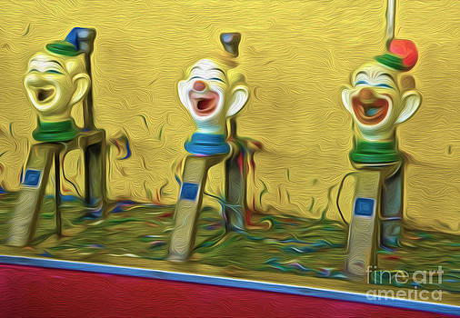 Gregory Dyer - Santa Cruz Boardwalk Clown Game