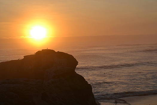 Santa Cruz Sunset by Matthew Marro