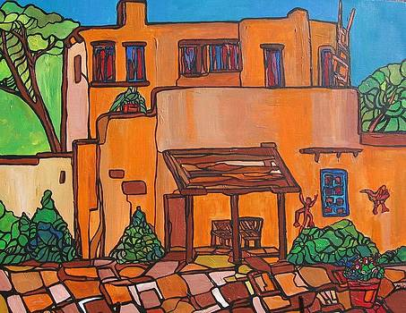 Santa Fe Adobe by Michelle Gonzalez
