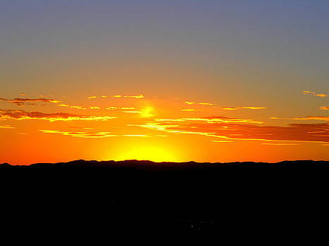 Santa Fe Sunset by Vicki Coover