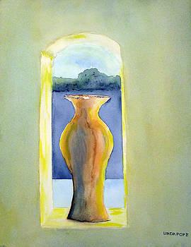 Santa Fe Window by Linda Pope