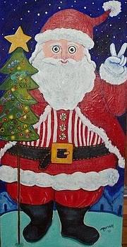 Santa by Marisol DAndrea
