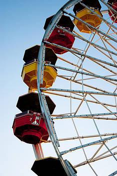 Santa Monica Ferris Wheel III by Heidi Reyher