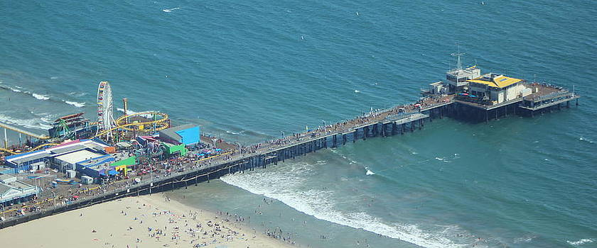 Santa Monica Pier by Jane Wals