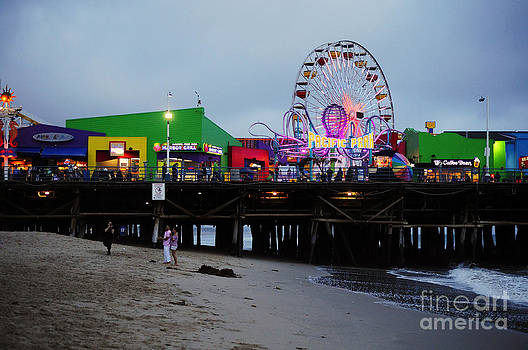 Santa Monica Pier May 12 2012 by Clayton Bruster