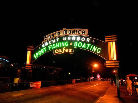 Santa Monica Pier by Yonni H