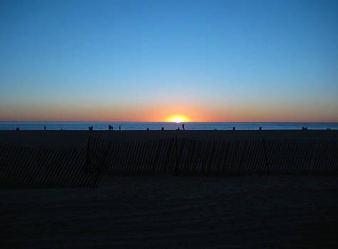 Santa Monica Sunset by Mythic Ink