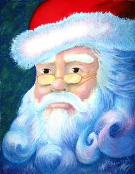 Santa Portrait by Sean Seal