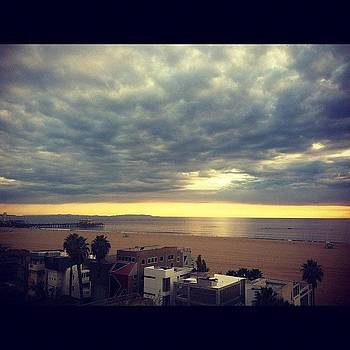 #santamonica #sky #ocean by Irina Liakh