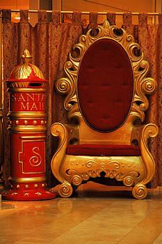 Santa's Chair by Carol Vanselow
