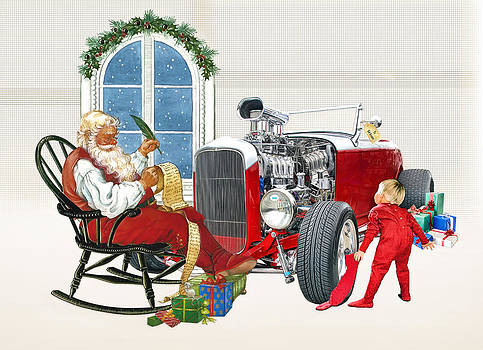 Santas Workshop by Rat Rod Studios