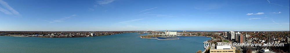 Sarnia Bay Panorama by Bruce Ritchie