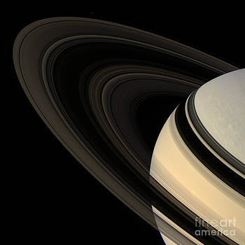 Science Source - Saturn And Its Rings