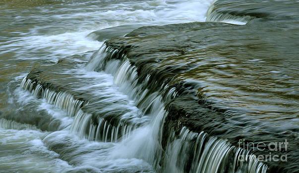 Sauble Falls Closeup by Chris Hill