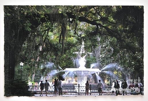 Savannah Fountain by Gail Fischer