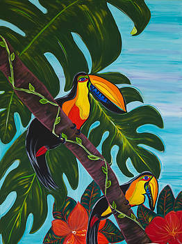 Savusavu Tucans by Bania Thaggard