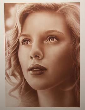 Scarlett johanssen by Steve Vanhemelryck