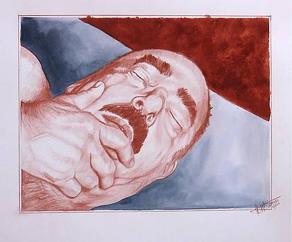 Schlafend  In the Modd II by HGW Schmidt