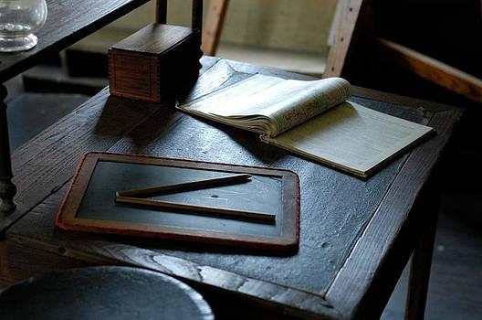 School Desk by James Walsh