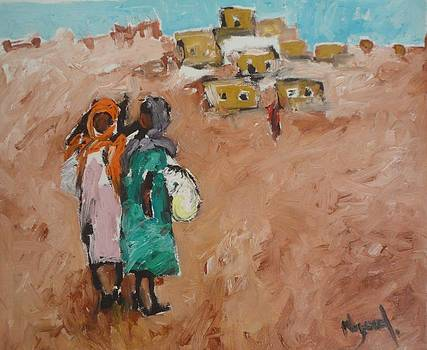 School Girls by Negoud Dahab