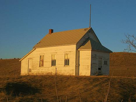 School House on The Prairie by Trish Pitts