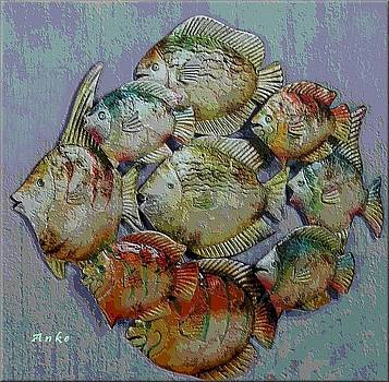 School of Fish by Anke Wheeler