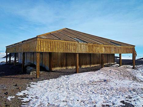 Scott's Hut - McMurdo by David Barringhaus