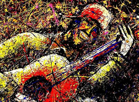 Scotty Coxs Guittar by Artist SinGh
