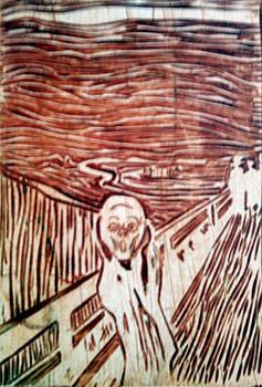 scream by Edvard Munch by Branko Jovanovic